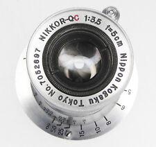 Nikkor Q.C 5cm f3.5 Coll. Leica SM  #7052697