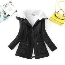 Women Cotton Coat Slim Jacket Casual Wadded Jacket Thick Cotton Padded Warm Coat