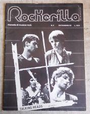 ROCKERILLA n.9 1980 Comsat Angels, Killing Joke, Rockpile, Talking Heads, Spizz