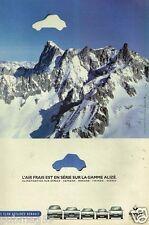 Publicité Advertising 1998 Renault gamme Alizé