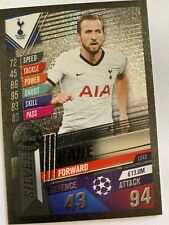 MATCH ATTAX 101 2019/2020 HARRY KANE SILVER LIMITED EDITION CARD LE4S