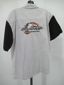 H1235 Men's Harley Davidson Motorcycle Biker Shirt Size XL