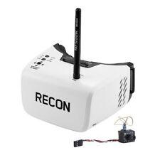 Fat Shark Micro FPV Camera 25mW Video Transmitter and Recon V2 DVR Goggles Combo