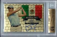 Leaf Metal Gold Prismatic Golf Lorena Ochoa  #1/1 BGS Gem MINT 9.5 Auto 10