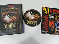 CANDYMAN 3 EL DIA DE LOS MUERTOS DVD + EXTRAS ESPAÑOL ENGLISH REGION 2