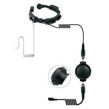 Throat Vibration Microphone Heavy Duty for Motorola Cobra Talkabout T 7200 7100