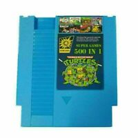 For NES Classic NTSC PAL Consoles 500 IN 1 Super Game Card Collection Cartridge