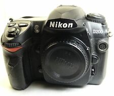 Nikon D200 10MP Digital SLR Camera Body only with cracked LCD Screen - works