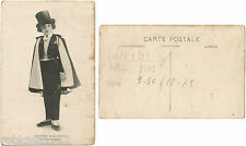 CPA postcard top hat Les Artistes du Zoo Circus Cirque Le Petit ROBERT [408 R]
