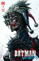 Batman Who Laughs 7 DC Francesco Mattina Harley Quinn Variant Dark Nights Metal