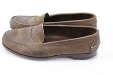 Vtg Ralph Lauren Polo Country Mens Penny Loafers Shoes Leather Soles Sz 10 USA