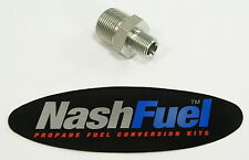 """3/4"""" MPT TO 3/8"""" MPT NIPPLE PIPE THREAD PROPANE NATURAL GAS FITTING HEX REDUCER"""