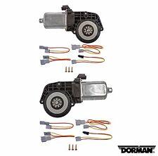 Fits Lincoln Ford Mercury Set of 2 Power Window Motors Dorman 742-250/742-251