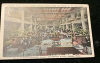 Spokane, Wash., America's Exceptional Lobbies, Davenport Hotel-c1920s Postcard