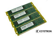 64MB MEMORY RAM KIT 4 Kurzweil K2500 K2000 K2vx 4x16MB w/ gold fingers/contacts