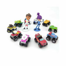 Blaze And The Monster Machine 12 PCS Action Figure Gift Kids Toys Cake Topper