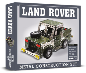 Land Rover Metal Construction Set 402 Piece Stainless Steel *FAST UK DISPATCH*