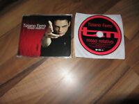 TIZIANO FERRO Rosso Relativo 2002 EUROPEAN promo CD single