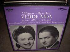 PERLEA / MILANOV / VERDI aida ( classical ) 3lp box - booklet -