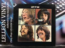The Beatles Let It Be LP Album Vinyl Rec PCS7096 3U/3U Green Apple Pop 1970 70's