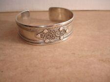 Bracelet en Argent à Décor de Filigrane