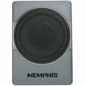 "MEMPHIS AUDIO SA110SPD 10"" 400W POWERED UNDER SEAT ENCLOSED SUBWOOFER AMPLIFIER"