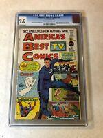 AMERICA'S BEST TV COMIC #nn CGC 9.0 VF/NM fantastic four spider-man 1967 casper