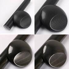 todos los tipos de Carbono Fibra Envoltorio Vinilo negro brillo o mate ( AIRE /