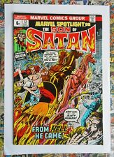MARVEL SPOTLIGHT #12 - OCT 1973 - 1st FULL SON OF SATAN APPEARANCE - FN- (5.5)