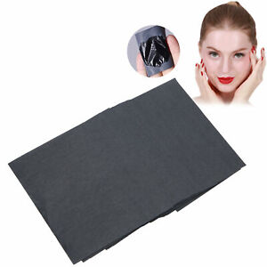 Oily Skin Care Blotting Paper Natural Bamboo Charcoal Makeup Absorbing Tissues
