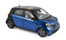 Norev 183435 smart forfour blau/schwarz 1:18 Neu/OVP
