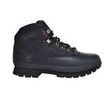 5190036ff7 Timberland Euro HiKer Men's Leather Boots Black 56038