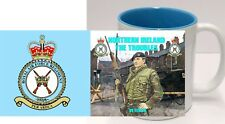 RAF Regt Mug NI The Troubles Royal Air Force Regiment Mug Op Banner Cup