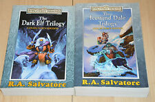 lot 2 livres Forgotten Realms : collector's Edition : R.A. Salvator