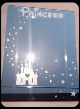 Disney Princess Hand Engraved Mirror! Personalise With Any Name! Stunning Gift!
