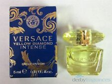 Versace Yellow Diamond Intense Eau de Parfum EDP Mini .17 oz 5 ml New in Box