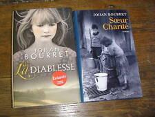 Johan Bouret / la diablesse / soeur charité / lot de 2