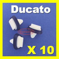 FIAT DUCATO SIDE TRIM MOULDING PLASTIC CLIPS EXTERIOR RUB STRIP