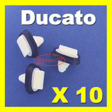 FIAT isole Ducie e Oeno side trim Stampaggio Plastica Clip esterno striscia di cancellatura