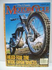 Classic Motor Cycle Magazine, 8 issues 2001