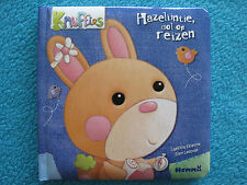 Voorleesboekje Knuffies - Hazelijntje dol op reizen! - Kartonnen boekje