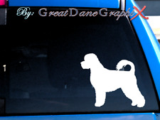 Portuguese Water Dog #2 -Vinyl Decal Sticker -Color Choice -High Quality
