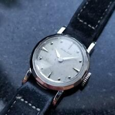 MATHEY-TISSOT Ladies Solid 14K White Gold Cocktail Dress Watch, c.1950s MA105