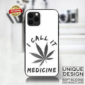 Weed Leaf Dope 420 Medicine Phone Case Samsung Galaxy S10 S9 Huawei iPhone Gift
