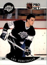 1990-91 PRO SET HOCKEY LUC ROBITAILLE CARD #126 LOS ANGELES KINGS NMT/MT-MINT