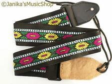 Elettrica o acustica chitarra cinturino colore per serie Folk Country 115B NUOVO