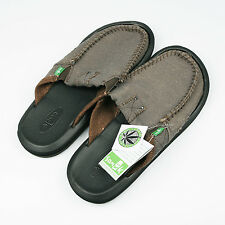 Sanuk Size US9 Men's You Got My Back II Loafer Slip Shoes Army Green