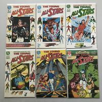 Lot of 11 Young All Stars (1987) from #1-30 VF Very Fine