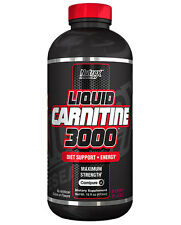NUTREX LIQUID L-CARNITINE 3000 Berry blas 16OZ WEIGHT LOSS SUPPORT+FREE SHIPPING