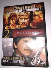 10 to Midnight and Kinjite Charles Bronson DVD Lisa Eilbacher, Perry Lopez NEW!